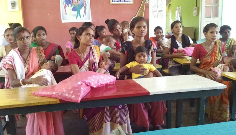 NUTRITION SUPPORT TO PREGNANT WOMEN FOR SAFE MOTHERHOOD IN ASSAM