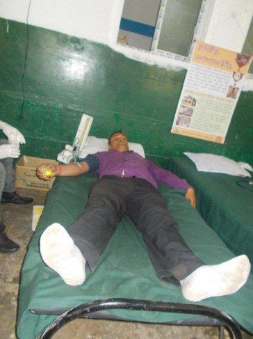 TATA Volunteering Week – Blood Donation Camp at Powai Tea Estate