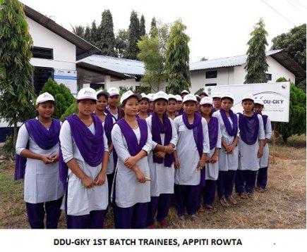 DDU-GKY 1st Batch Trainees, APPITI ROWTA