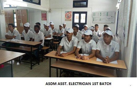 ASDM 1st Batch