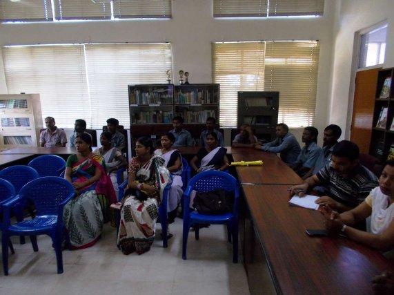 International Girl Child Awareness Camp held at Teok Tea Estate on 11th Oct'14