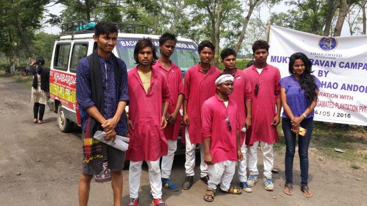 Organized Mukti Caravan - Anti-Trafficking and Child Protection Campaign