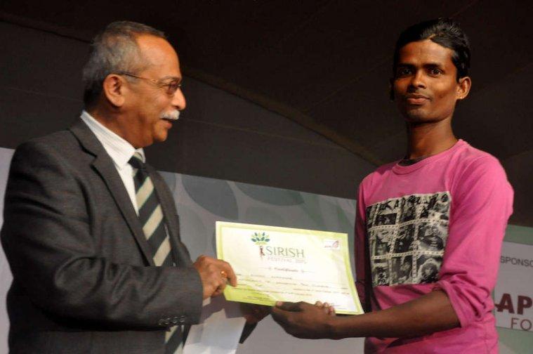 Sirish Festival 2015 : Pole Climbing Winner