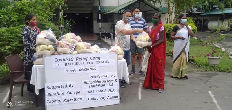 Thanks to our partners for organizing COVID 19 relief camp