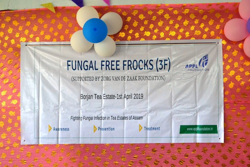 Inauguration of Fungal Free Frocks (3F) Project