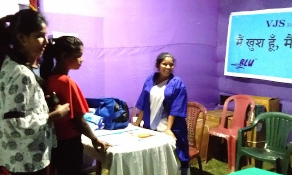 Menstrual hygiene awareness at Sirish 2019