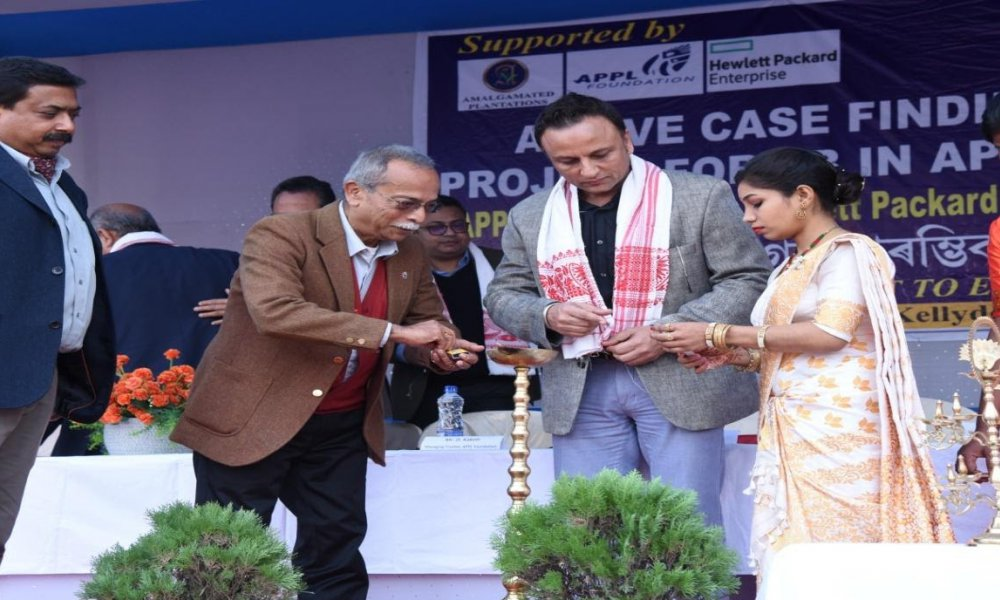 Inauguration of Active Case Finding Project for TB