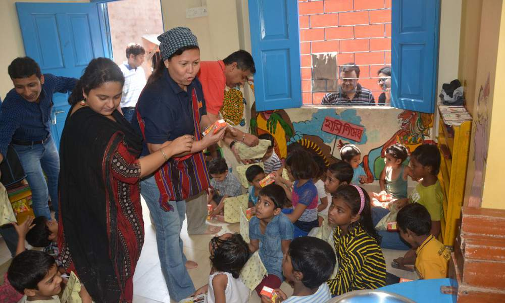 A joint initiative with New Light NGO