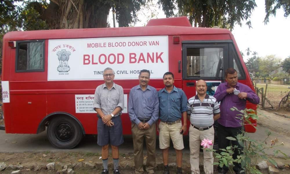 Blood Donation Camp at Powai Tea Estate
