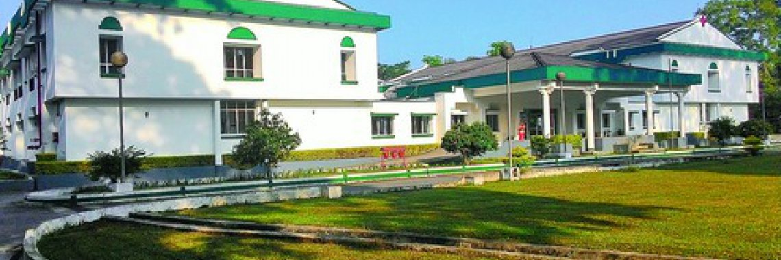 The Referral Hospital and Research Centre at Chubwa tea estate. Telegraph picture