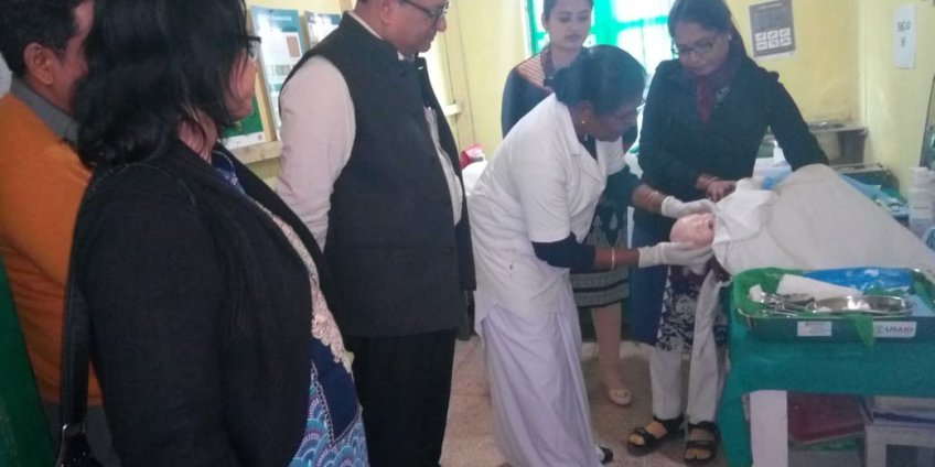 Usaid at Naharkatia Tea Garden Hospital