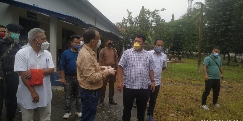 BTR Chief's visit to APPITI, Rowta.