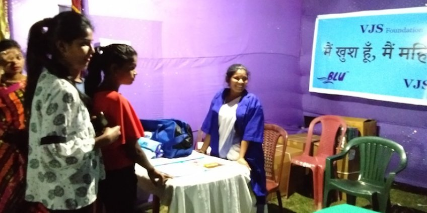 Menstrual hygiene awareness at Sirish 2019