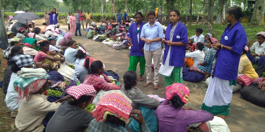 TRAINING WOMEN TO SPREAD MENSTRUAL HYGIENE