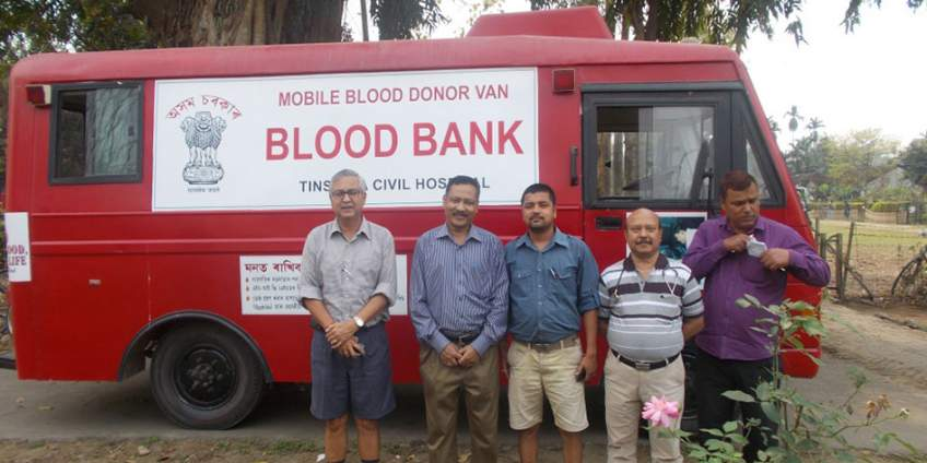 Blood Donation Camp at Powai Tea Estate